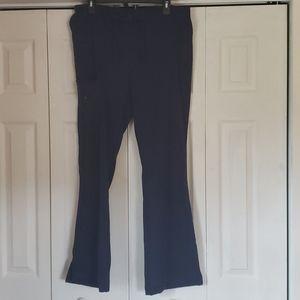 Jockey navy blue scrub pants